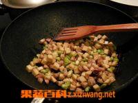 果蔬百科豆干萝卜粒